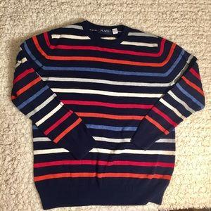 Children's Place Crewneck Striped Sweater